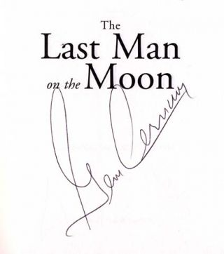 The Last Man On The Moon - 1st Edition/1st Printing