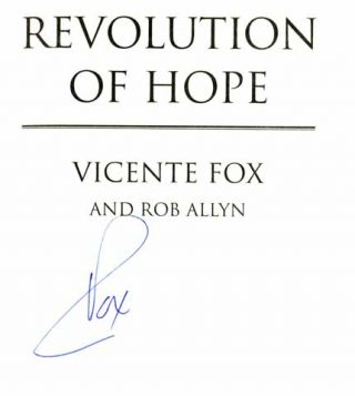 Revolution Of Hope - 1st Edition/1st Printing