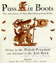 Puss In Boots - 1st Edition/1st Printing