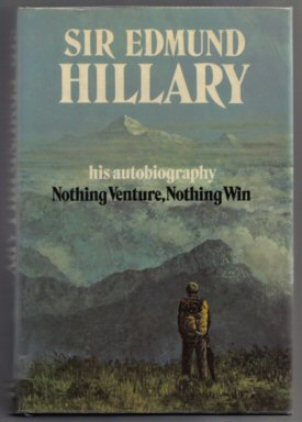 Nothing Venture, Nothing Win - 1st Edition/1st Printing