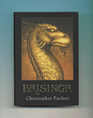 Brisingr - 1st Edition/1st Printing. Christopher Paolini