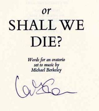 Or Shall We Die? - 1st Edition/1st Printing