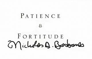 Patience & Fortitude: a Roving Chronicle of Book People, Book Places, and Book Culture - 1st Edition/1st Printing
