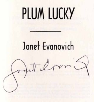 Plum Lucky - 1st Edition/1st Printing