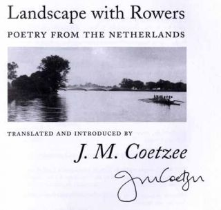 Landscape with Rowers: Poetry From The Netherlands - 1st Edition/1st Printing