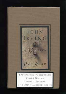 A Widow for One Year - Limited/numbered UK Edition. John Irving