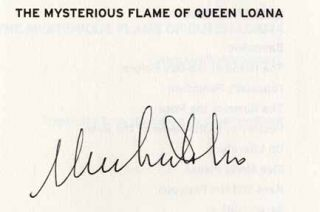 The Mysterious Flame Of Queen Loana - 1st US Edition/1st Printing