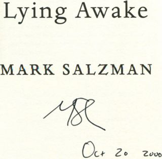 Lying Awake - 1st Edition/1st Printing