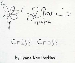 Criss Cross - 1st Edition/1st Printing