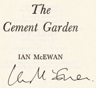 The Cement Garden - 1st Edition/1st Printing