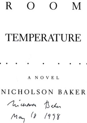 Room Temperature - 1st Edition/1st Printing
