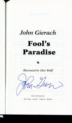 Fool's Paradise - 1st Edition/1st Printing