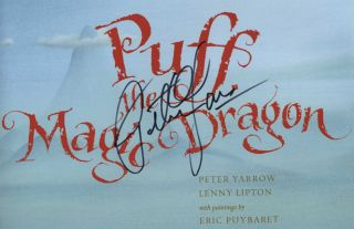 Puff, the Magic Dragon - 1st Edition/1st Printing. Peter Yarrow, Lenny Lipton