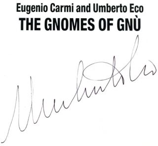 The Gnomes Of Gnù - 1st English Language Edition