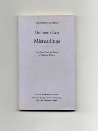 Misreadings - Uncorrected Proof