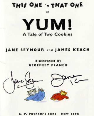 Yum! A Tale Of Two Cookies - 1st Edition/1st Printing