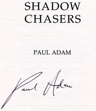 Shadow Chasers - 1st Edition/1st Printing