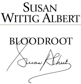 Bloodroot - 1st Edition/1st Printing