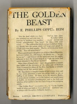 The Golden Beast 1st Edition/1st Printing