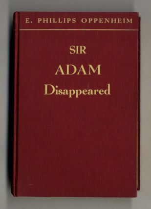 Sir Adam Disappeared - 1st Edition/1st Printing