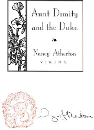 Aunt Dimity and the Duke - 1st Edition/1st Printing