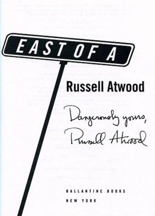 East of A - 1st Edition/1st Printing