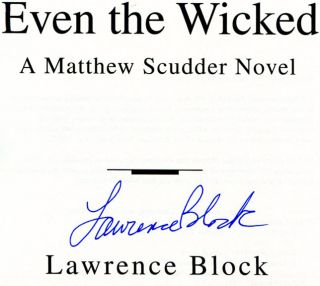 Even the Wicked - 1st US Edition/1st Printing