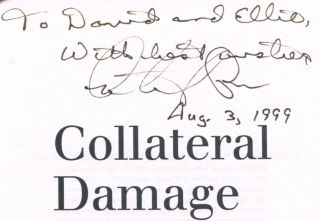 Collateral Damage - 1st Edition/1st Printing
