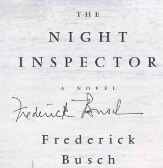 The Night Inspector - 1st Edition/1st Printing