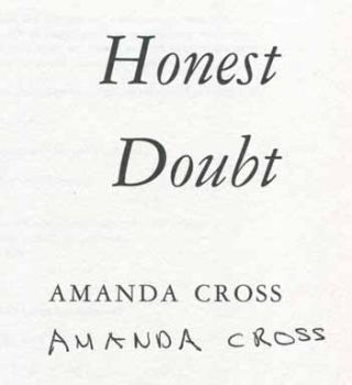 Honest Doubt - 1st Edition/1st Printing