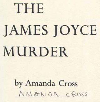 The James Joyce Murder - 1st Edition/1st Printing