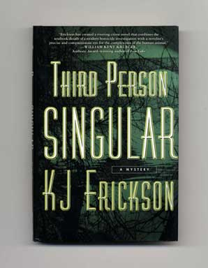 Third Person Singular - 1st Edition/1st Printing