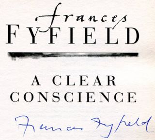 A Clear Conscience - 1st Edition/1st Printing