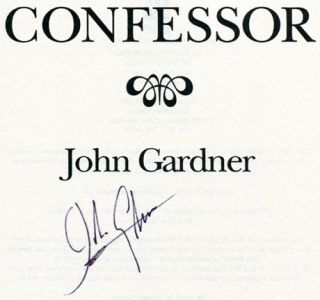 Confessor - 1st Edition/1st Printing