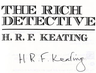 The Rich Detective - 1st US Edition/1st Printing