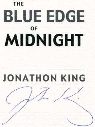 The Blue Edge of Midnight - 1st Edition/1st Printing