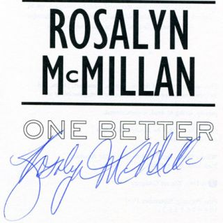 One Better - 1st Edition/1st Printing