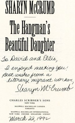 The Hangman's Beautiful Daughter - 1st Edition/1st Printing