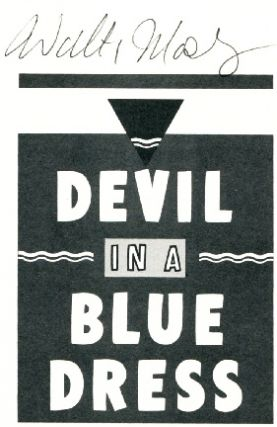 Devil in a Blue Dress - 1st Edition/1st Printing