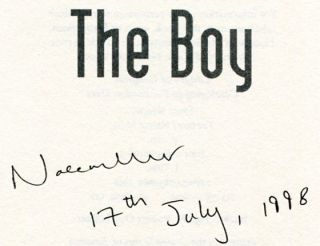 The Boy - 1st Edition/1st Printing