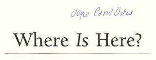 Where Is Here? - 1st Edition/1st Printing