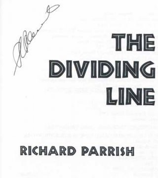 The Dividing Line - 1st Edition/1st Printing