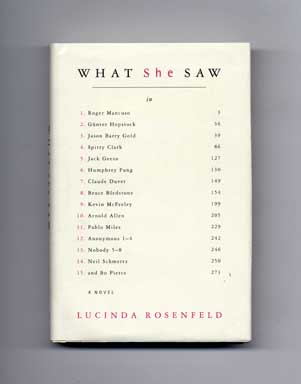 What She Saw - 1st Edition/1st Printing