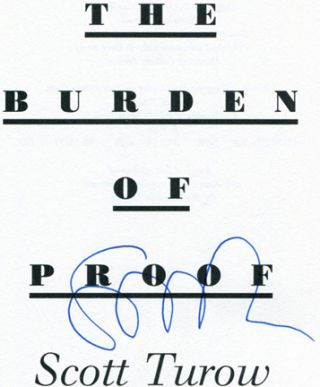 The Burden of Proof - 1st Edition/1st Printing