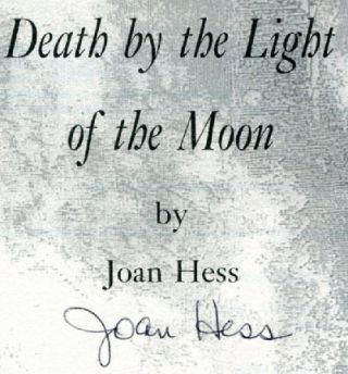 Death by the Light of the Moon - 1st Edition/1st Printing