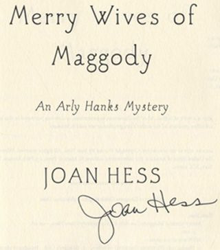 The Merry Wives Of Maggody - 1st Edition/1st Printing