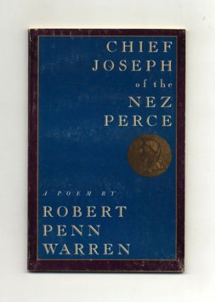 Chief Joseph Of Nez Perce. Robert Penn Warren.