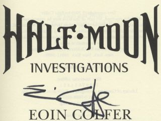 Half-Moon Investigations - 1st US Edition/1st Printing