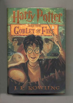 Harry Potter And The Goblet Of Fire - 1st US Edition/1st Printing. J. K. Rowling