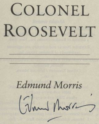 Colonel Roosevelt - 1st Edition/1st Printing